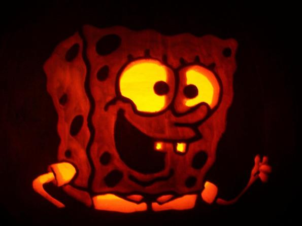 Pumpkin Carvings Spongebob Squarepants 4