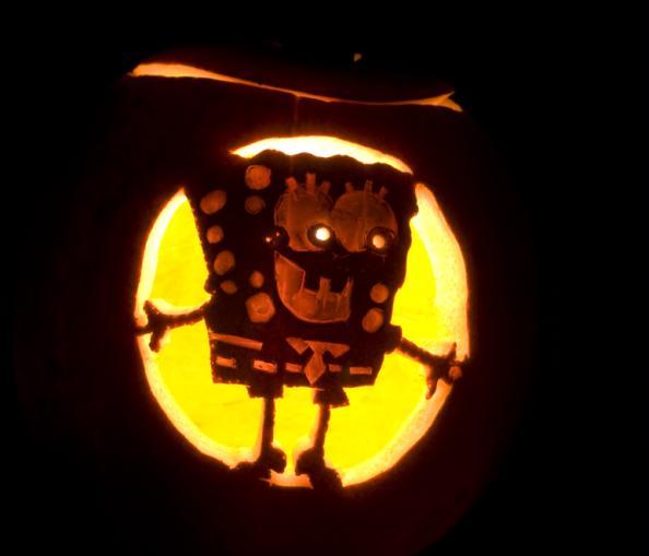 pumpkin carvings spongebob squarepants 5