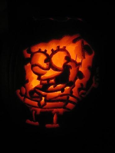 pumpkin carvings spongebob squarepants 7
