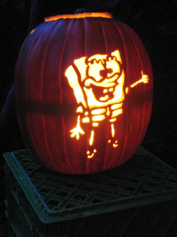 pumpkin carvings spongebob squarepants 9