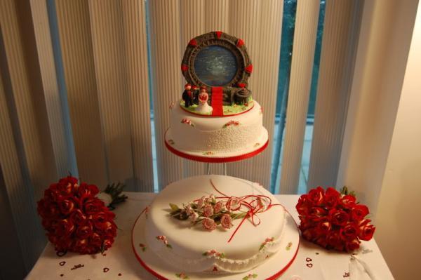stargate wedding cake design 1