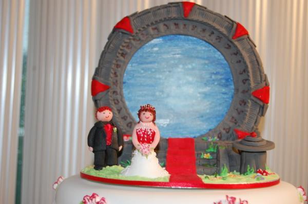 stargate wedding cake design 2