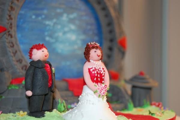stargate wedding cake design 3