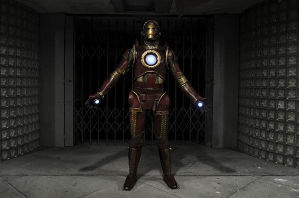 steampunk iron man comic con 2010 3