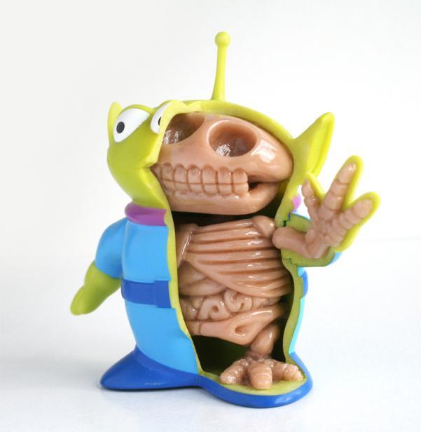 toy story alien doll anatomy design