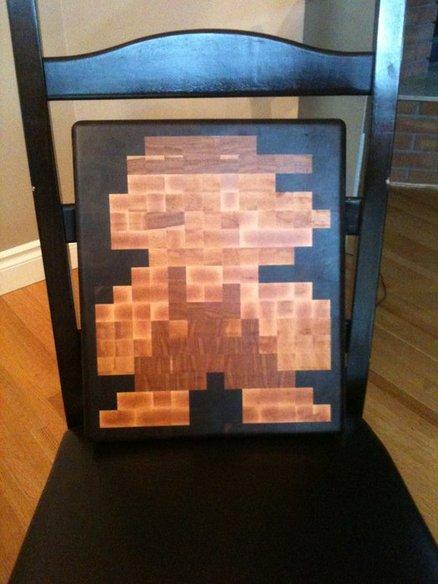 Mario Cutting Board
