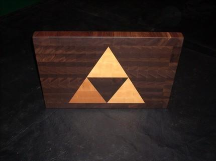 This Zelda Inspired Triforce Cutting Board Is A Perfect Combination Of  Excellent Quality And Awesome Design With Amazing Triangle Based Theme.