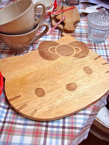 Hello Kitty Cutting Board