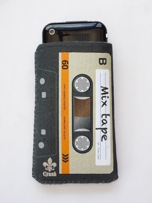 Orange Cassette Tape iPhone Case 1