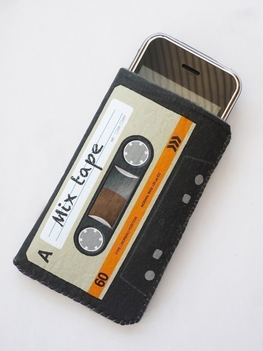 Orange Cassette Tape iPhone Case 3