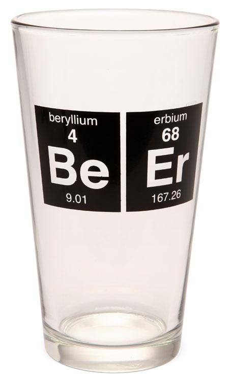 Periodic Beer Glass 1