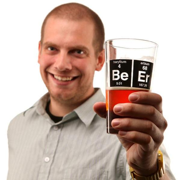Periodic Beer Glass 2
