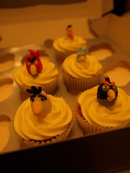 angry birds game collection cake design 6