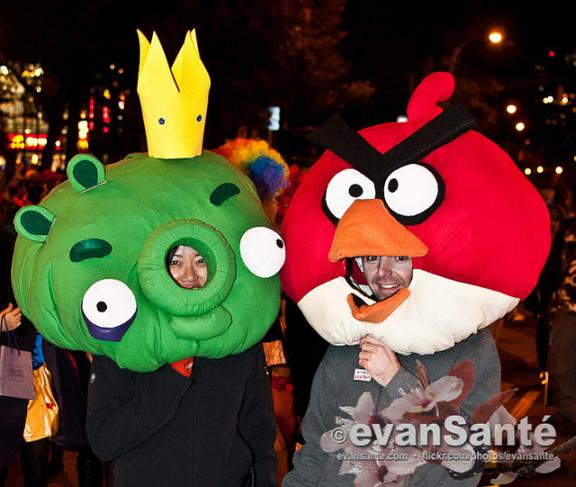 Images from the Hallowen Parade (2010)