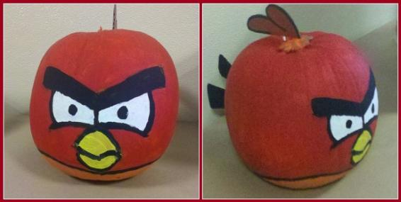 angry birds game collection halloween pumpkin carvings 7
