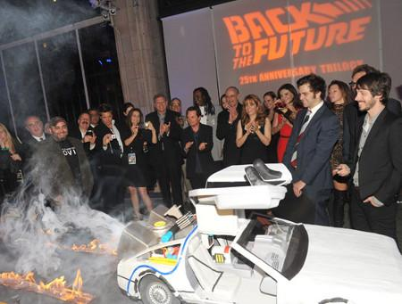back to the future delorean cake design image