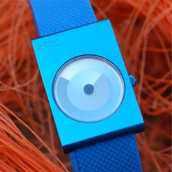 designer watch i toc time revolution blue image