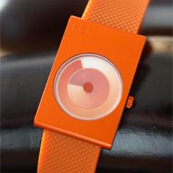 designer watch i toc time revolution orange image