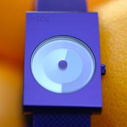 designer watch i toc time revolution purple image
