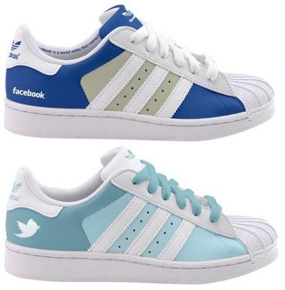 facebook twitter adidas superstars shoes