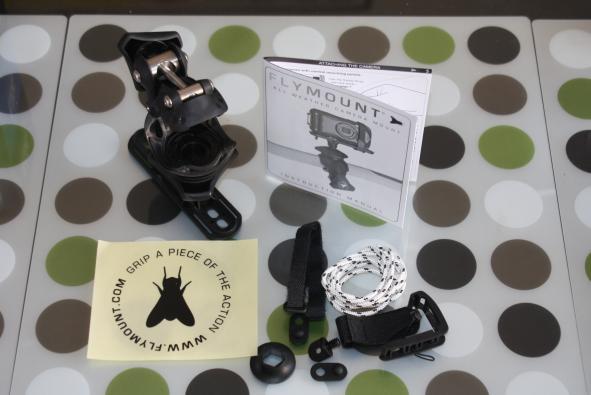 flymount camera mount hands on