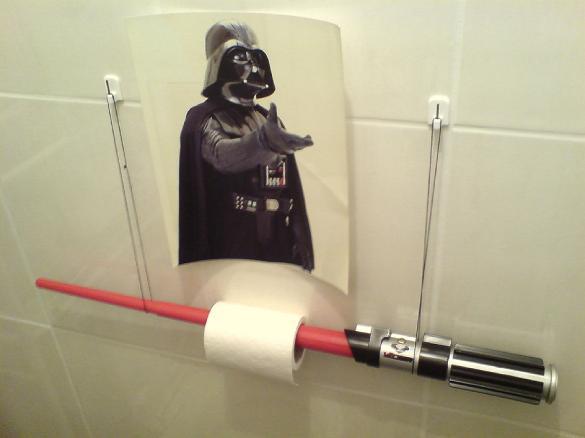 lightsaber toilet paper