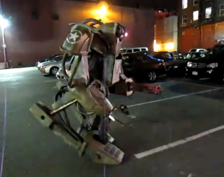 mecha walker robot costume image