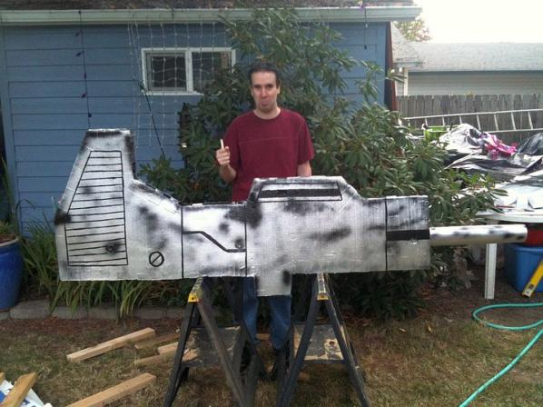 optimus prime gun art 2010