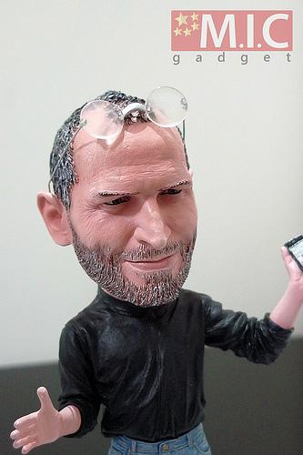 steve jobs action figure toy