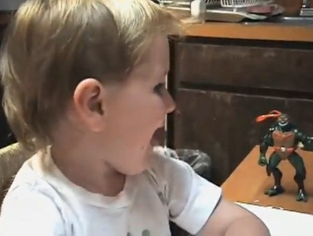teenage mutant ninja turtles leonardo finger paint