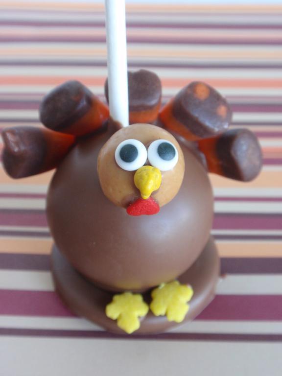thanksgiving turkey cake miniatures 3
