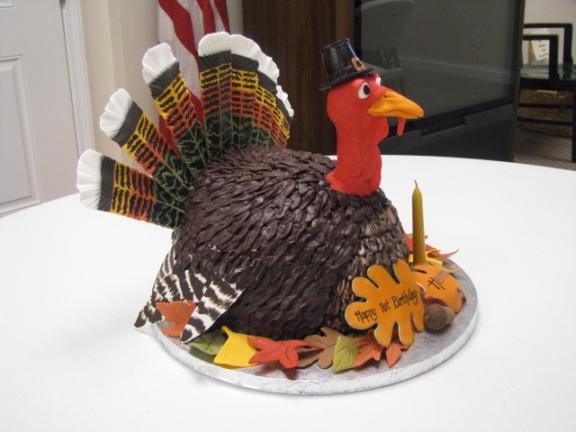 thanksgiving turkey cakes 3