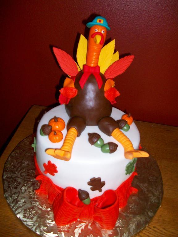 thanksgiving turkey cakes 6