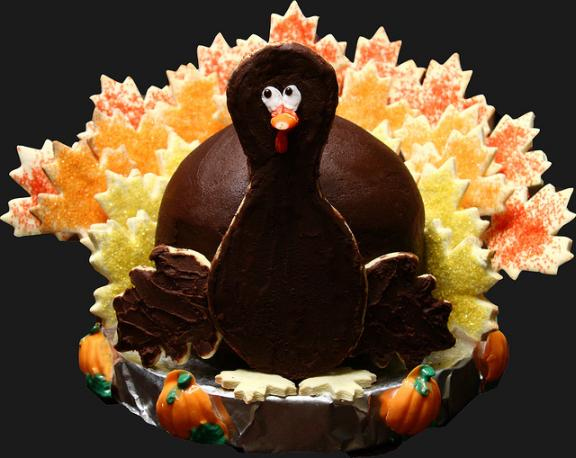 thanksgiving turkey themed cakes 1