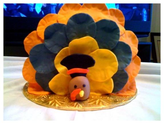 thanksgiving turkey themed cakes 5