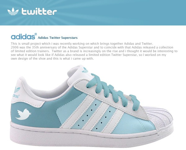 twitter adidas superstars shoes