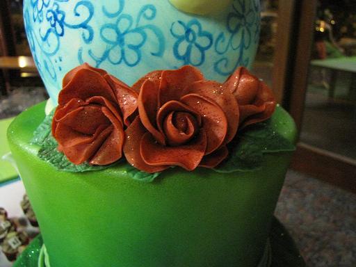 wonderland cake 5